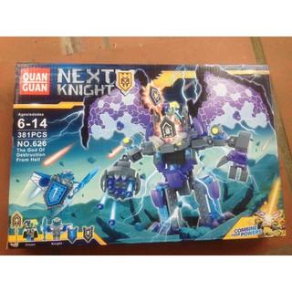 Bộ xếp hình Nexo Knights Quan guan 626 – Chúa tể địa ngục