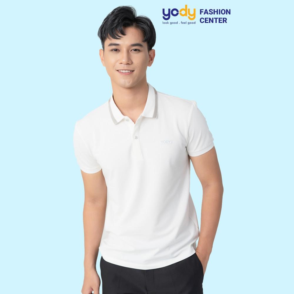 Áo polo nam YODY cao cấp , áo phông nam cotton ngắn tay áo thun nam có cổ yody fashion APM3299