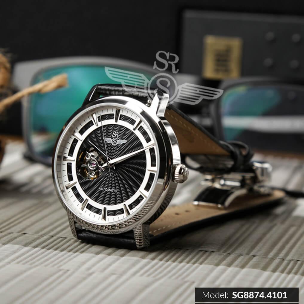 Đồng hồ nam SRWATCH Automatic (máy cơ) SG8874.4101 Mặt Kính Sapphire Chống Trầy Chốn