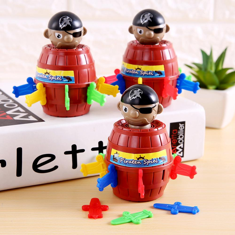 New Child Kids Children Funny Gadget Pirate Barrel Game Desktop Wonderful