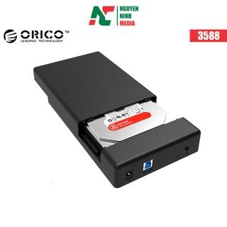 Box Đựng Ổ Cứng 3.5 ORICO 3588 USB3.0/3.5/2.5 - Hàng Chính Hãng Viscom