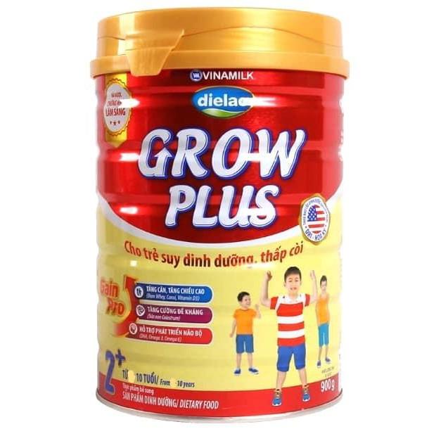 Sữa bột Vinamilk Dielac Grow plus 1+, 2+ (900g)