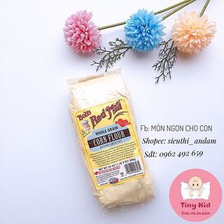 Bột Bắp Hữu Cơ, Bột Ngô Bob Red Mill Làm Bánh Cho Bé Ăn Dặm thumbnail