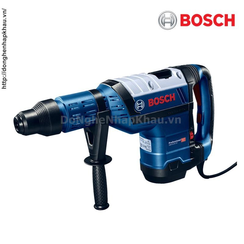 Máy Khoan Bê Tông 3 Chức Năng Chính Hãng Bosch GBH 8-45DV - 1500W - Đầu Gài