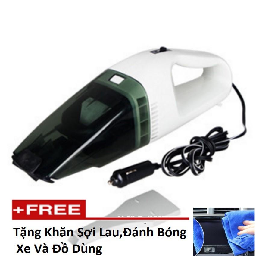 Máy hút bụi xe ô tô cầm tay Vacuum 12v tặng khăn sợi lau, đánh bóng xe hơi - 3091148 , 831367851 , 322_831367851 , 196000 , May-hut-bui-xe-o-to-cam-tay-Vacuum-12v-tang-khan-soi-lau-danh-bong-xe-hoi-322_831367851 , shopee.vn , Máy hút bụi xe ô tô cầm tay Vacuum 12v tặng khăn sợi lau, đánh bóng xe hơi