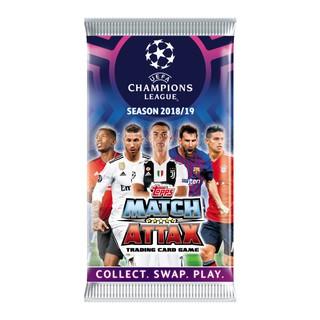 Gói 7 thẻ bài bóng đá Match Attax Ppro