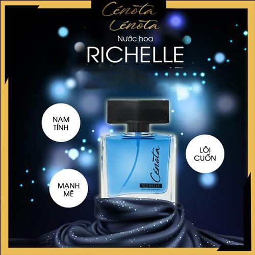 Nước hoa nam Cénota Richelle, nước hoa nam mạnh mẽ, quyến rũ - mã PM06 Shino_cosmetic