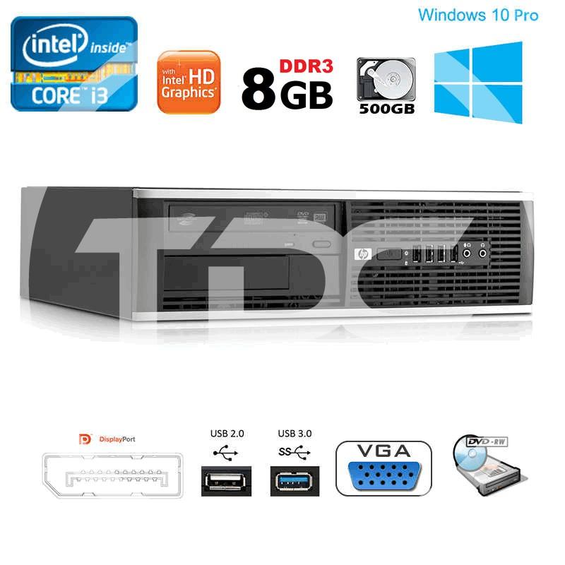 Cây máy tính để bàn HP compaq 6300 core i3 3220 ram 8gb, ổ cứng 500gb.Hàng Nhập Khẩu, Bảo hành 2 năm, Quà Tặng usb wifi. Giá chỉ 2.699.990₫