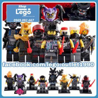 Xếp hình Ninjago Garmadon Lego Minifigures LeLe A009 016 thumbnail