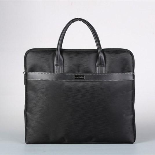 ฮ่องกงจดหมายธุรกิจกระเป๋าเอกสารแบบพกพาถุงแฟ้มถุงซิปกระเป๋าผู้ชายข้อมูลถุงผ้า Oxf