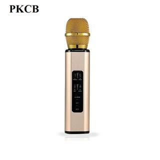 Micro karaoke kèm Loa bluetooth nhập khẩu cao Cấp PKCB K6 có khe Cắm thẻ nhớ 3 trong 1 Hàng chính hãng thumbnail