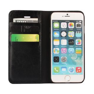 Bao da thật có ngăn đựng thẻ cho Apple iPhone 6 / 6s