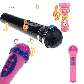 ★Baby Girls Boys Party Wireless Microphone Karaoke Singing Kids Funny Music Toy