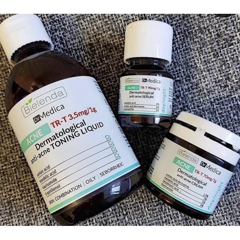 Kem dưỡng bielenda drmedica - bộ bielenda drmedica ( srm , toner , serum , kem dưỡng )