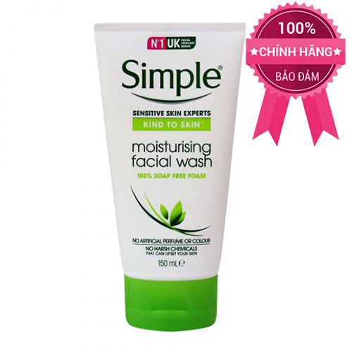 Sữa Rửa Mặt Cho Da Nhạy Cảm Gel Kind To Skin Refreshing Facial Wash 150ml