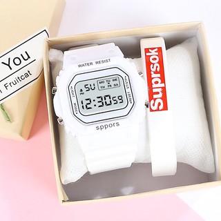 Đồng hồ điện tử nam nữ Sppors khung 6 số MS693 thumbnail