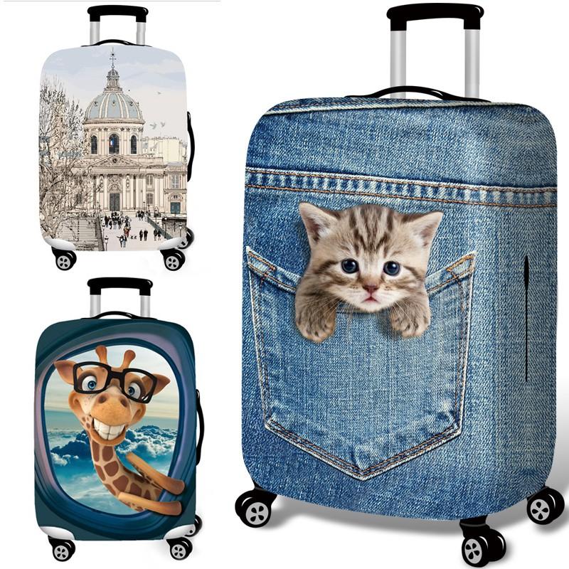 ฝาครอบกระเป๋าเดินทางแบบยืดหยุ่น