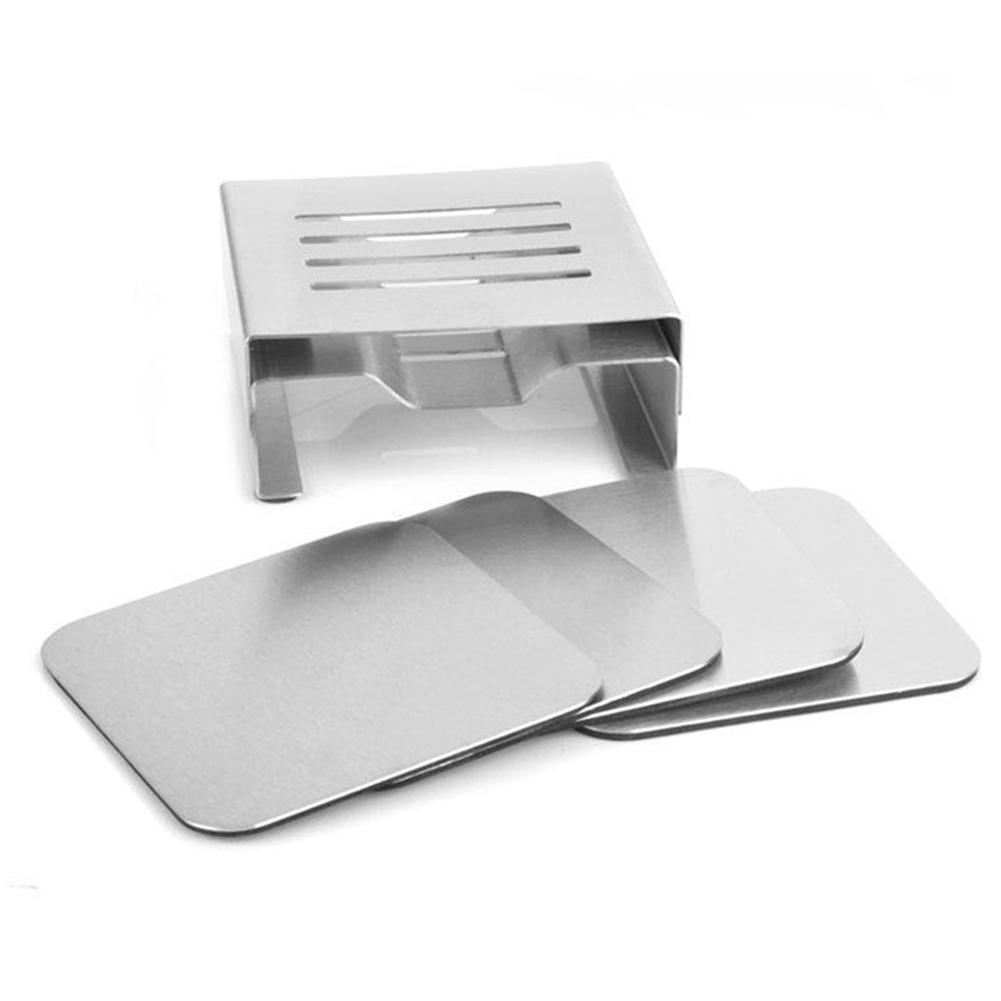 Stainless Steel Storage Anti Slip Home Kitchen Tools Accessories Heat Insulation Durable Pot Mat