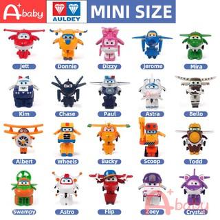 Mini Super Wings Auldey Brand Đồ chơi máy bay biến hình vui nhộn cho trẻ em thumbnail