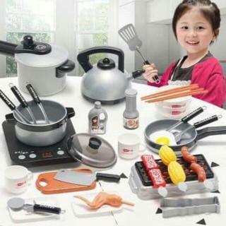 [Giảm 50%] Bộ đồ chơi nấu ăn cho bé 36 món. Quà hot