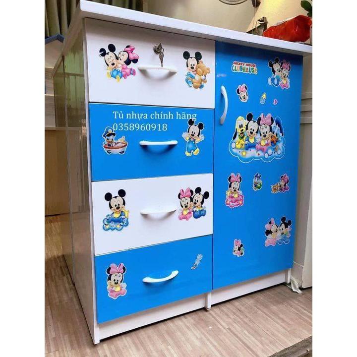 Tủ Nhựa Đài Loan Trẻ Em [FREESHIP, CÓ VIDEO SP] Tiện Lợi Chịu Lực Tốt Tủ Đựng Quần Áo Cho Bé Trai Bé Gái Giá Tốt Nhất