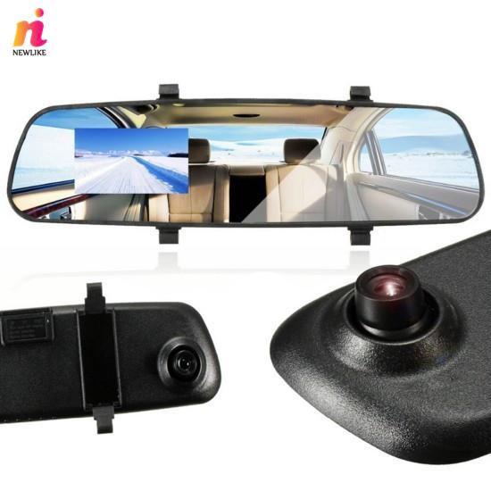 2.8'' 1080P LCD HD Car Camera DVR Video Recorder Rearview Mirror Dash Cam
