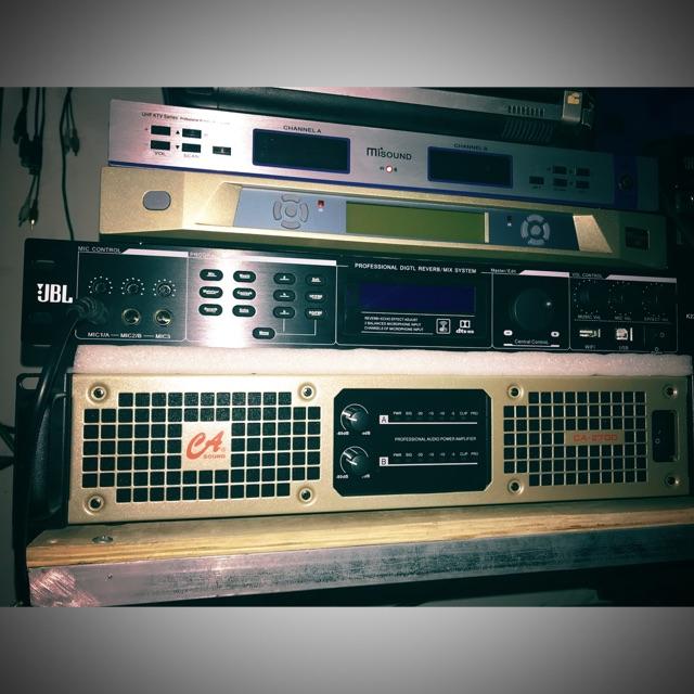Công suất 2 kênh CAsound 2700