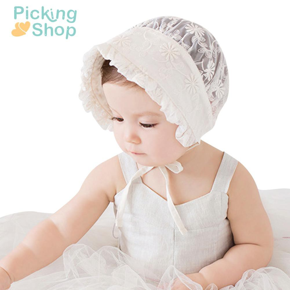 Sweet Lovely Cute Children Kids Girls Baby Flower Hat New Lace Cap