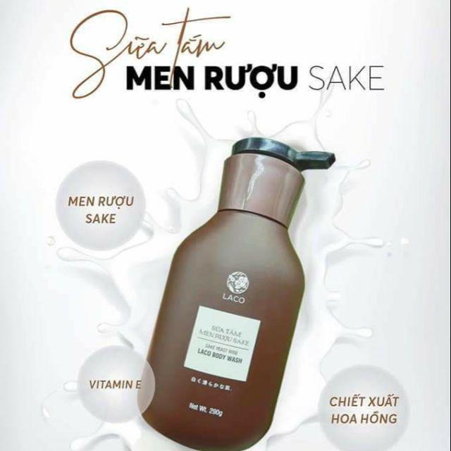 Sữa tắm MEN RƯỢU SAKE - 22179503 , 2219792724 , 322_2219792724 , 280000 , Sua-tam-MEN-RUOU-SAKE-322_2219792724 , shopee.vn , Sữa tắm MEN RƯỢU SAKE