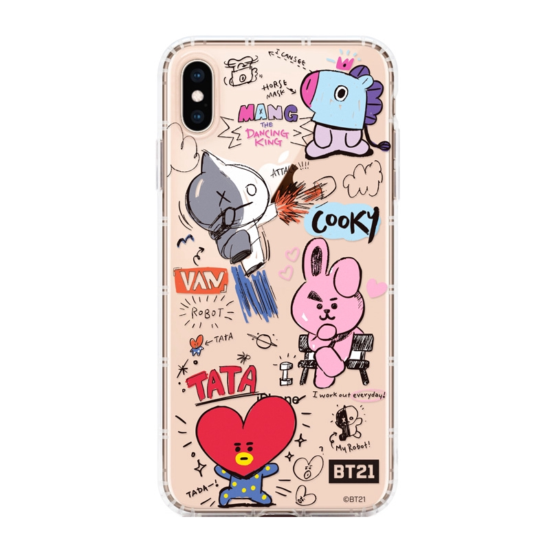 ốp điện thoại bt21 iphone 6 6s iphone 7 plus iphone 8 iphone x
