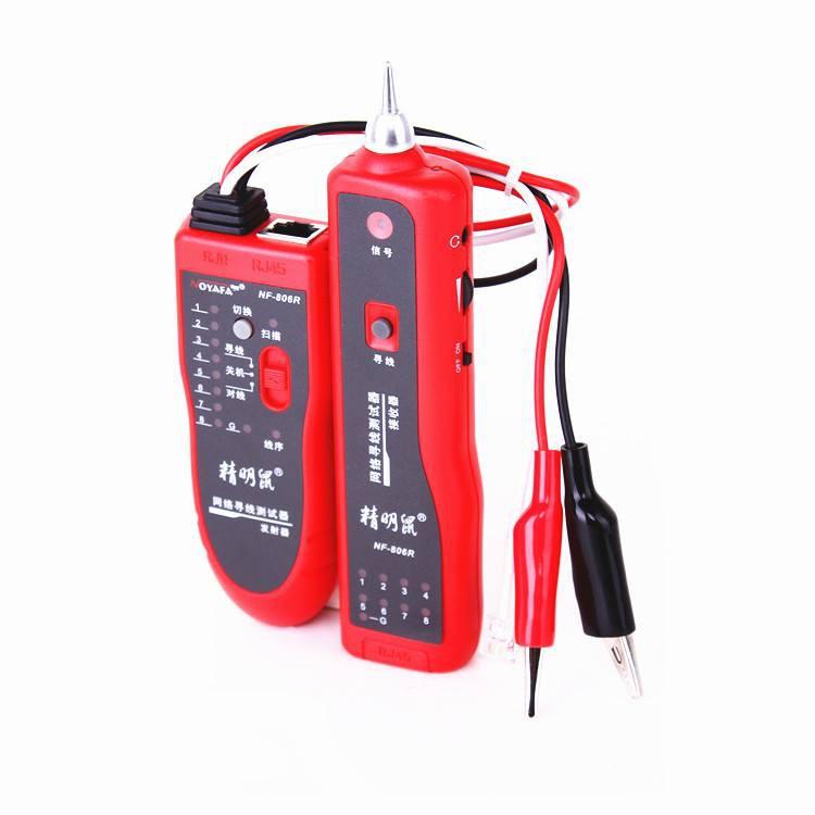 Máy test dò cáp mạng và điện thoại NOYAFA NF-806R (Đỏ) - máy test cáp đa năng, dò dây mạng chuyên dụ - 3485236 , 877118122 , 322_877118122 , 849000 , May-test-do-cap-mang-va-dien-thoai-NOYAFA-NF-806R-Do-may-test-cap-da-nang-do-day-mang-chuyen-du-322_877118122 , shopee.vn , Máy test dò cáp mạng và điện thoại NOYAFA NF-806R (Đỏ) - máy test cáp đa năng,