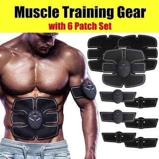 12Pcs/Set Muscle Training Gear Abs Abdominal Toning Fit Body Exercise Shape