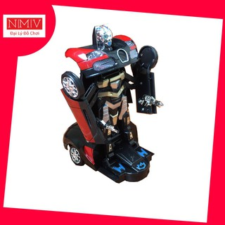 Ô Tô Biến Hình Robot Có Đèn, Có Nhạc (RB8987)