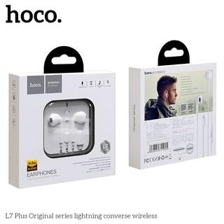 Tai Nghe Dây chân lightning dành cho iphone 7,8,X,.. -Hoco L7 Plus -Hàng phân phối chính hãng