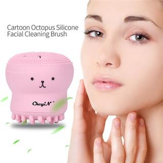 Hình ảnh Bạch tuộc hoạt hình Bàn chải làm sạch da mặt Hướng dẫn làm sạch da mặt-0