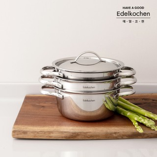 ★Daltty★ [Edelkochen] Petit 3-piece IH Induction pot set
