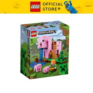 LEGO MINECRAFT 21170 Ngôi Nhà Heo ( 490 Chi tiết)