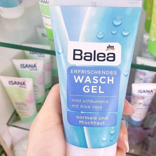 [Thanh lý hàng chính hãng Đức] Sữa rửa mặt Balea Erfrischendes Waschgel