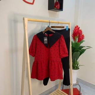 áo tim đỏ bầu
