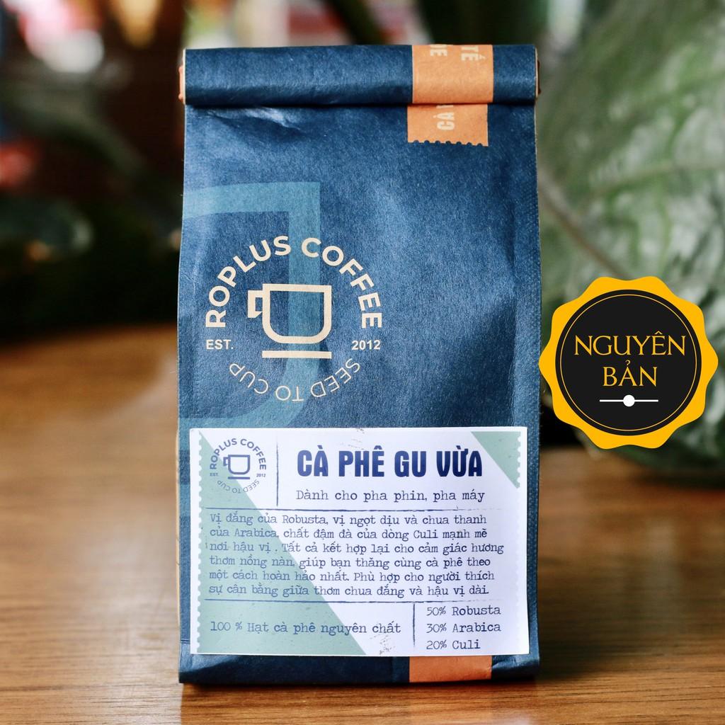 Cà phê Gu Vừa nguyên chất rang mộc - RoPlus Coffee
