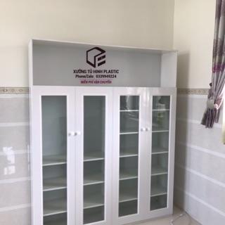 Tủ dép thiết kế theo yêu cầu freeship và lắp ráp