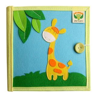 Sách vải Mầm Non Xuất Khẩu Thiên Nhiên Kỳ Thú – Dành cho bé từ 1 – 6 tuổi