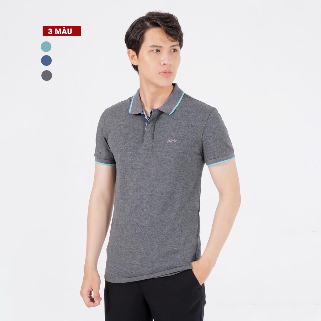 Áo Thun Nam Có Cổ Blentino PL22 - Form Slim Fit, Vải Thấm Mồ Hôi, Không Nhăn Co
