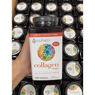 [Date 04 2023] Viên uống bổ sung Collagen + Biotin Youtheory (390 thumbnail