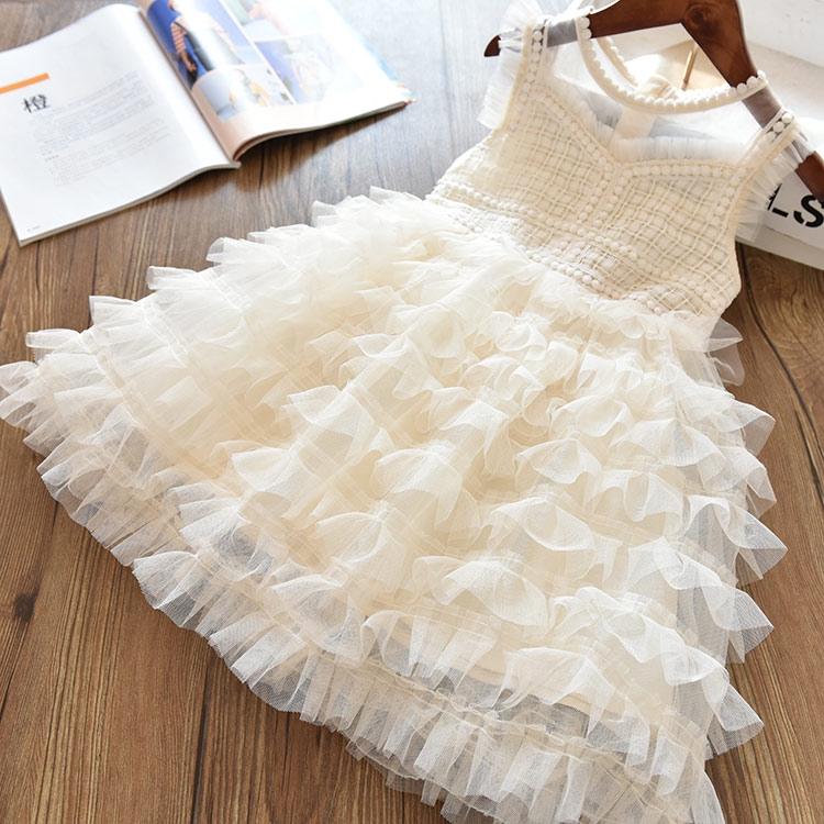 Đầm công chúa sát nách cho bé gái