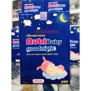 Nutribaby goodnight_ cho bé yêu giấc ngủ ngon