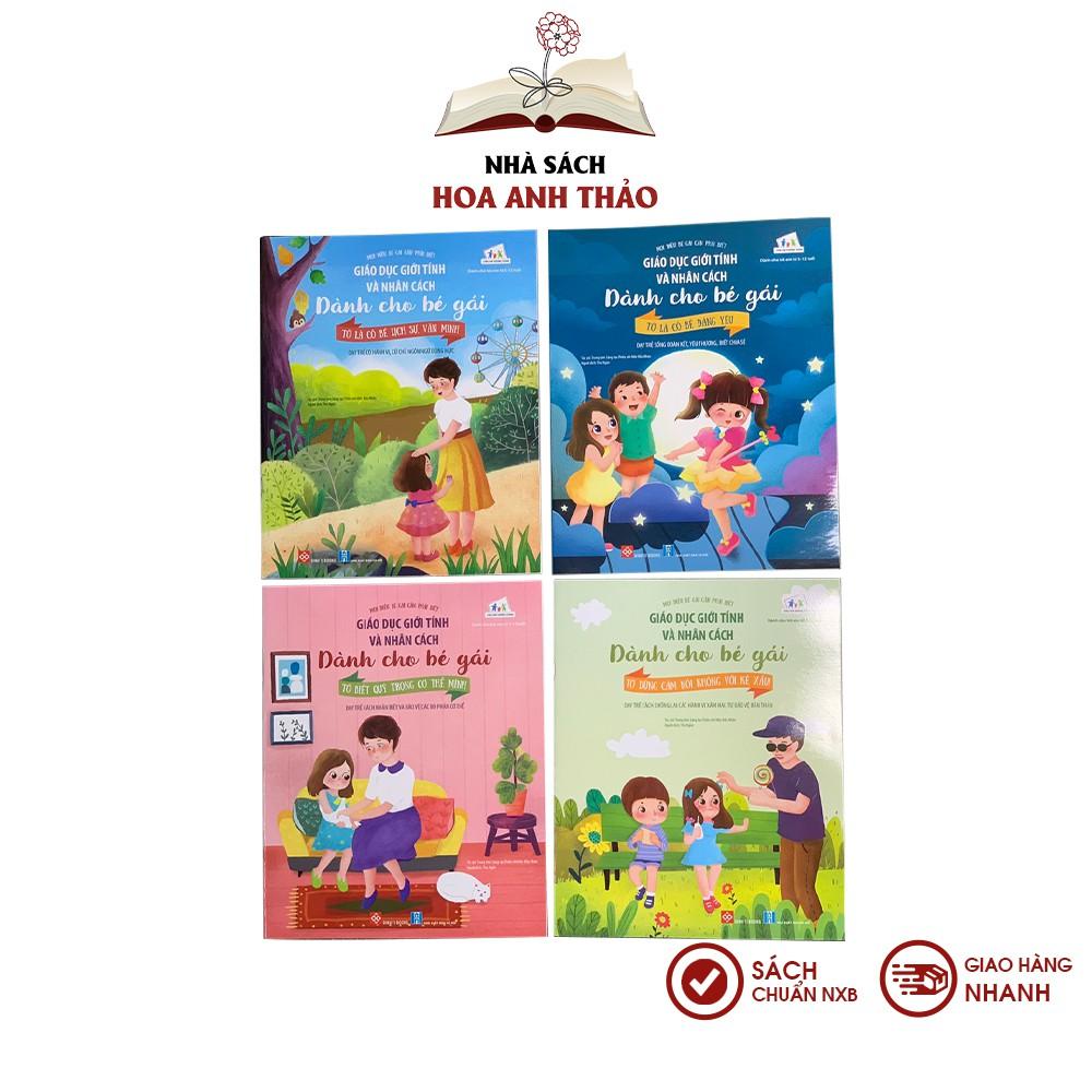 Sách - Giáo dục giới tính và nhân cách dành cho bé gái - Cô bé đáng yêu
