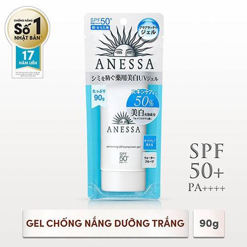 Hình ảnh [HCM]Gel chống nắng dưỡng trắng Anessa Whitening UV Sunscreen Gel 90g_14719-1