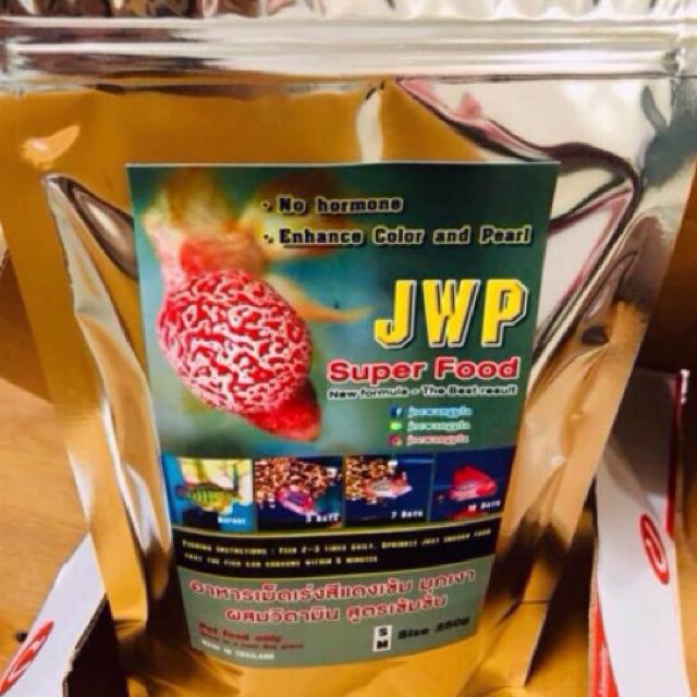 [Mã PET0901 giảm 9K đơn 99K] Thức ăn đặt biệt dành cho cá La Hán JWP Super Food MỚI NHẤT từ Thailand