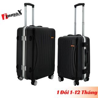 Bộ 2 vali khung nhôm size 20inch + 24inch immaX A15 bảo hành 2 năm chính hãng, 1 đổi 1 trong 12 tháng thumbnail